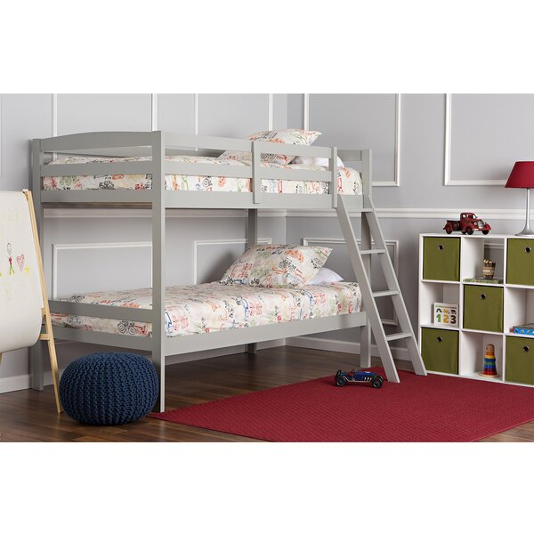 Dream On Me Logan Mini Twin Over Twin Bunk Bed by Dream On Me