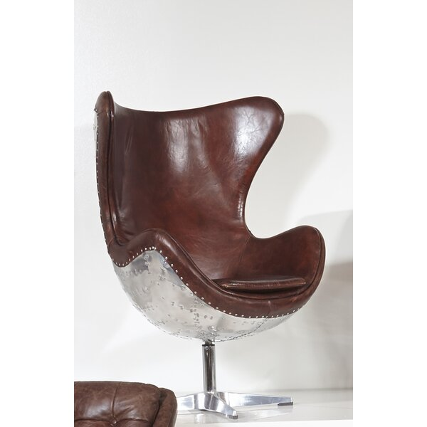 Willingham Swivel Wingback Chair by Trent Austin Design