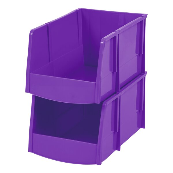 Storage Bin (Set of 6) by IRIS USA, Inc.