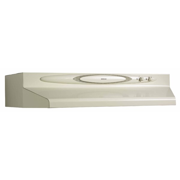 36 220 CFM Convertible Under Cabinet Range Hood by Broan