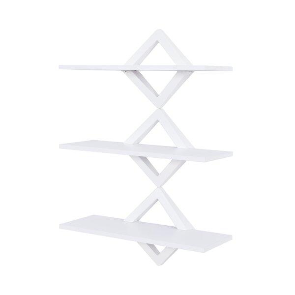 Henstra Diamonds 3-Level System Floating Shelf by Latitude Run