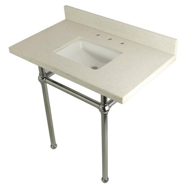 Quartz 36 Single Bathroom Vanity Set by Kingston Brass