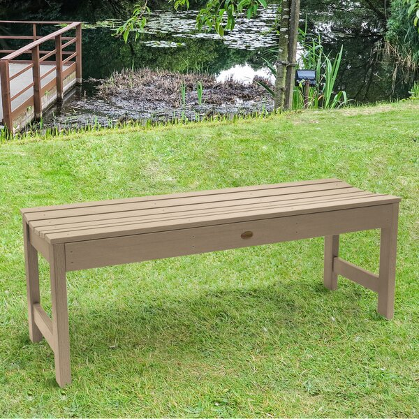 Amelia Wooden Picnic Bench by Three Posts