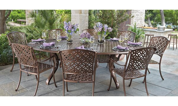Casa 9 Piece Dining Set by Woodard Woodard