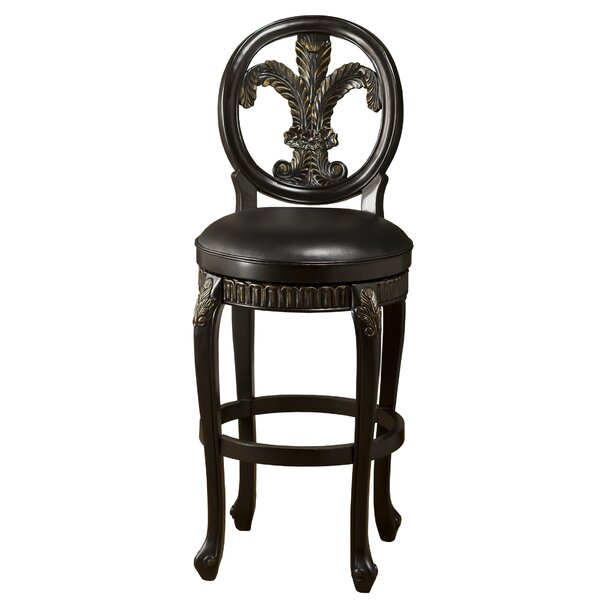 Anavilhanas 31 Swivel Bar Stool by Astoria Grand