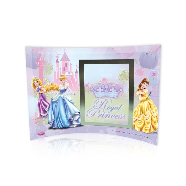 Disney Princesses (Royal Princess) Curved Glass Print with Photo Frame by Trend Setters