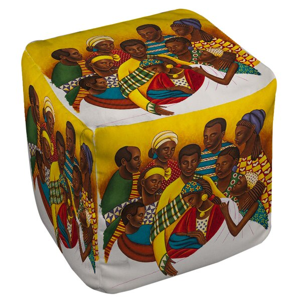 Family Photo Pouf By Manual Woodworkers & Weavers Top Reviews