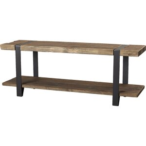 Fallon Wood Storage Bench