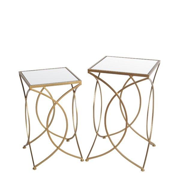 Digiacomo Pedestal Nesting Tables By Mercer41