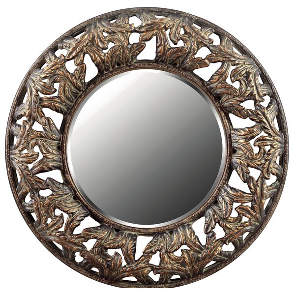 Crawford Wall Accent Mirror by Galaxy Home Decoration