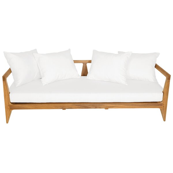 Limited Teak Patio Sofa with Cushion by OASIQ