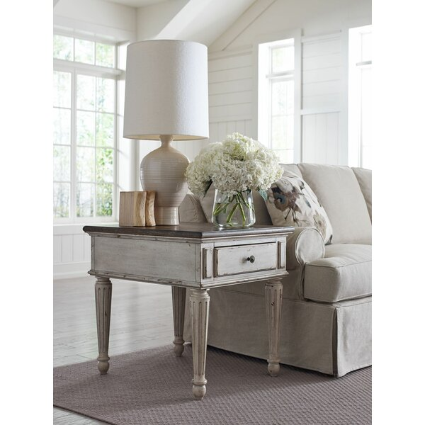 Ismael End Table with Storage by Ophelia & Co. Ophelia & Co.