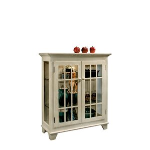ColorTime Lighted Console Curio Cabinet