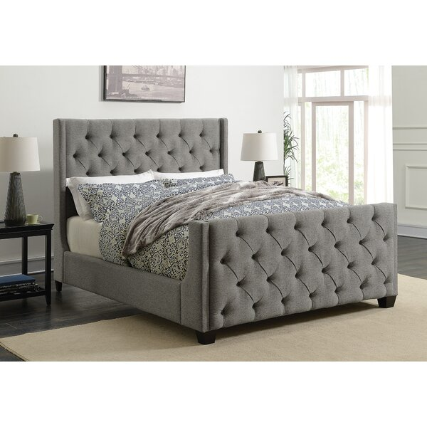 Greig Upholstered Standard Bed By Alcott Hill by Alcott Hill Spacial Price