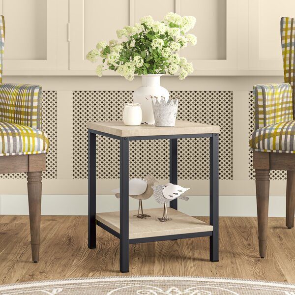 Cheap Price Bronson End Table With Storage