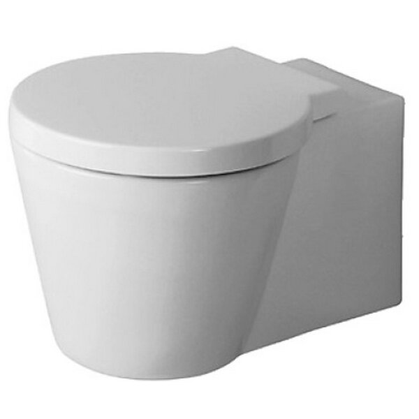 Starck Dual Flush Round Toilet Bowl by Duravit