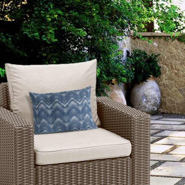 Marshall Geometric Outdoor Lumbar Pillow by Ivy Bronx