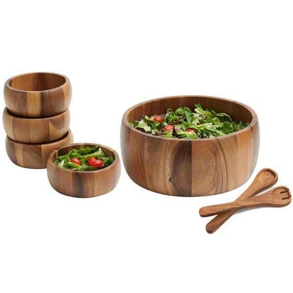 Jace 7 Piece Large Salad Bowl Set by Mint Pantry