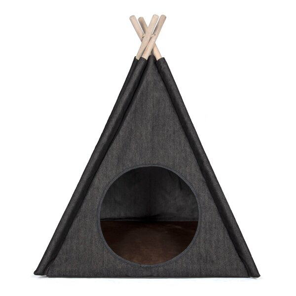 Charlene Urban Denim Teepee Tent Dome by Tucker Murphy Pet