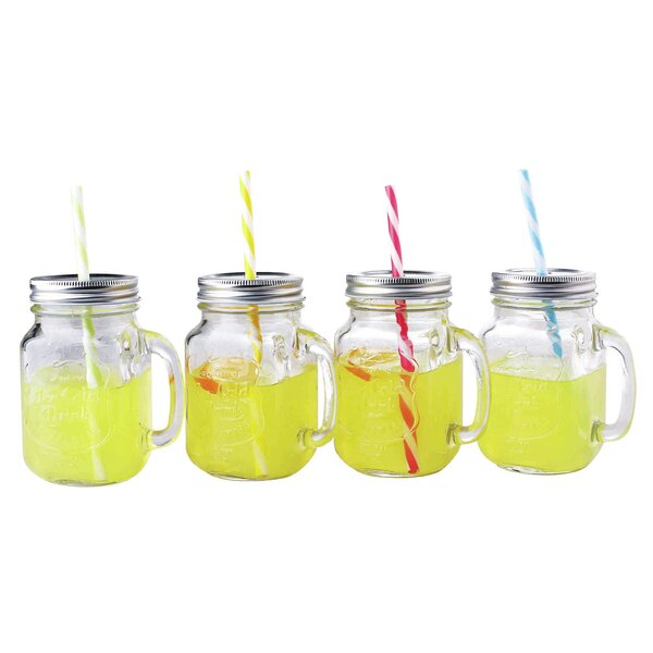 Mason Jar (Set of 4) by Home Basics