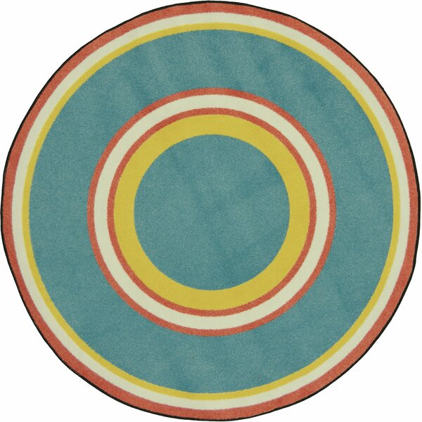 Blue/Green Area Rug by The Conestoga Trading Co.