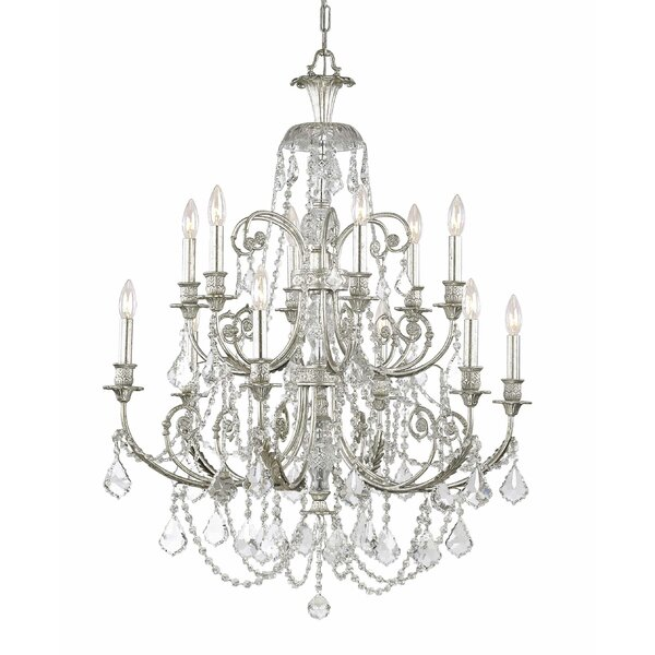 Frida 12-Light Candle Style Chandelier by House of Hampton