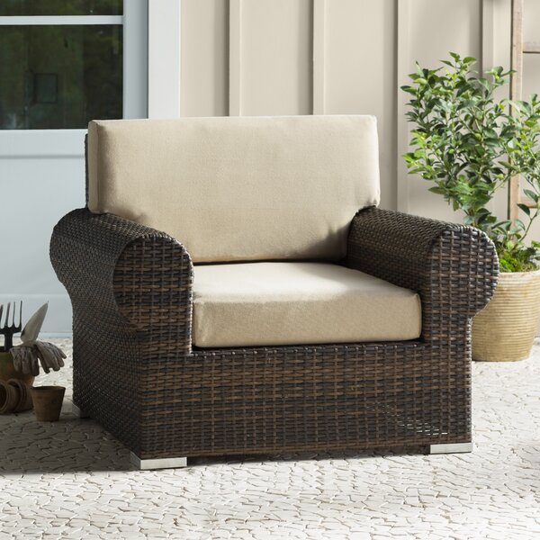 Brookhaven Patio Chair with Cushion by Birch Lane™ Heritage