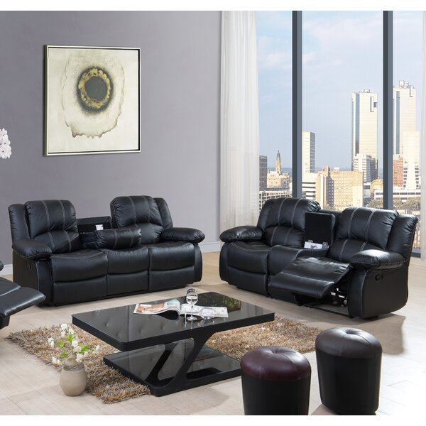 Egor Living Room Reclining Set 2 Piece Living Room by Red Barrel Studio