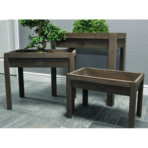 3-Piece Wood Raised Garden by Pyper Marketing LLC
