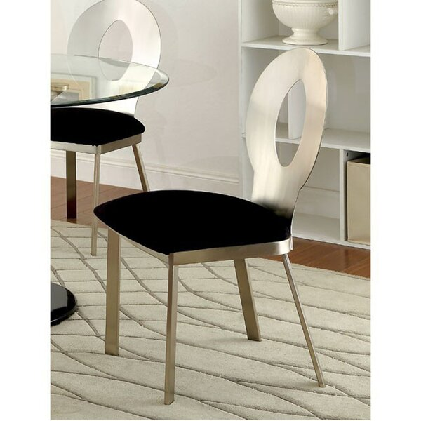 Mervine Upholstered Dining Chair (Set of 2) by Orren Ellis Orren Ellis