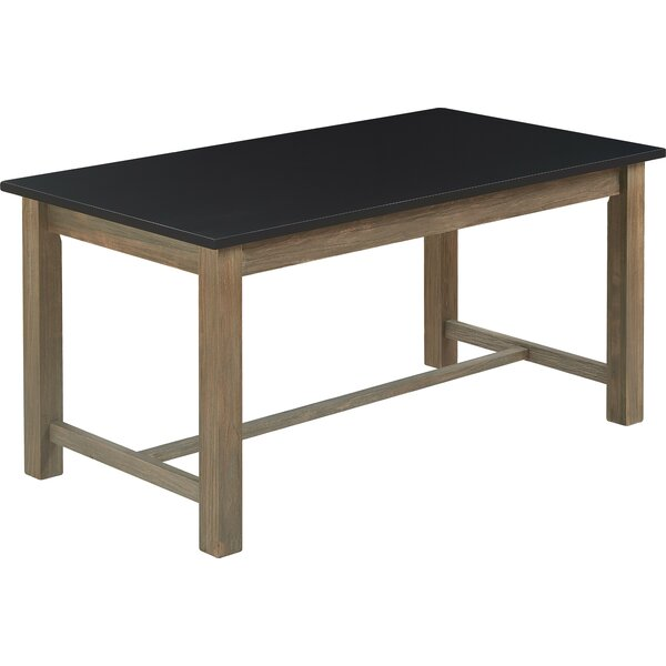 Finch Elmhurst Dining Table, Black and Weathered Grey by Tommy Hilfiger