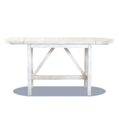 Counter Drop Leaf Dining Table White image