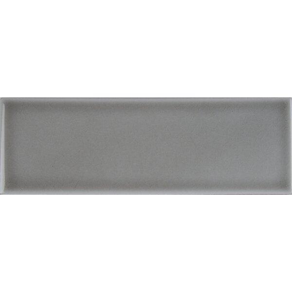 4 x 12 Ceramic Wall Tile in Dove Gray by MSI