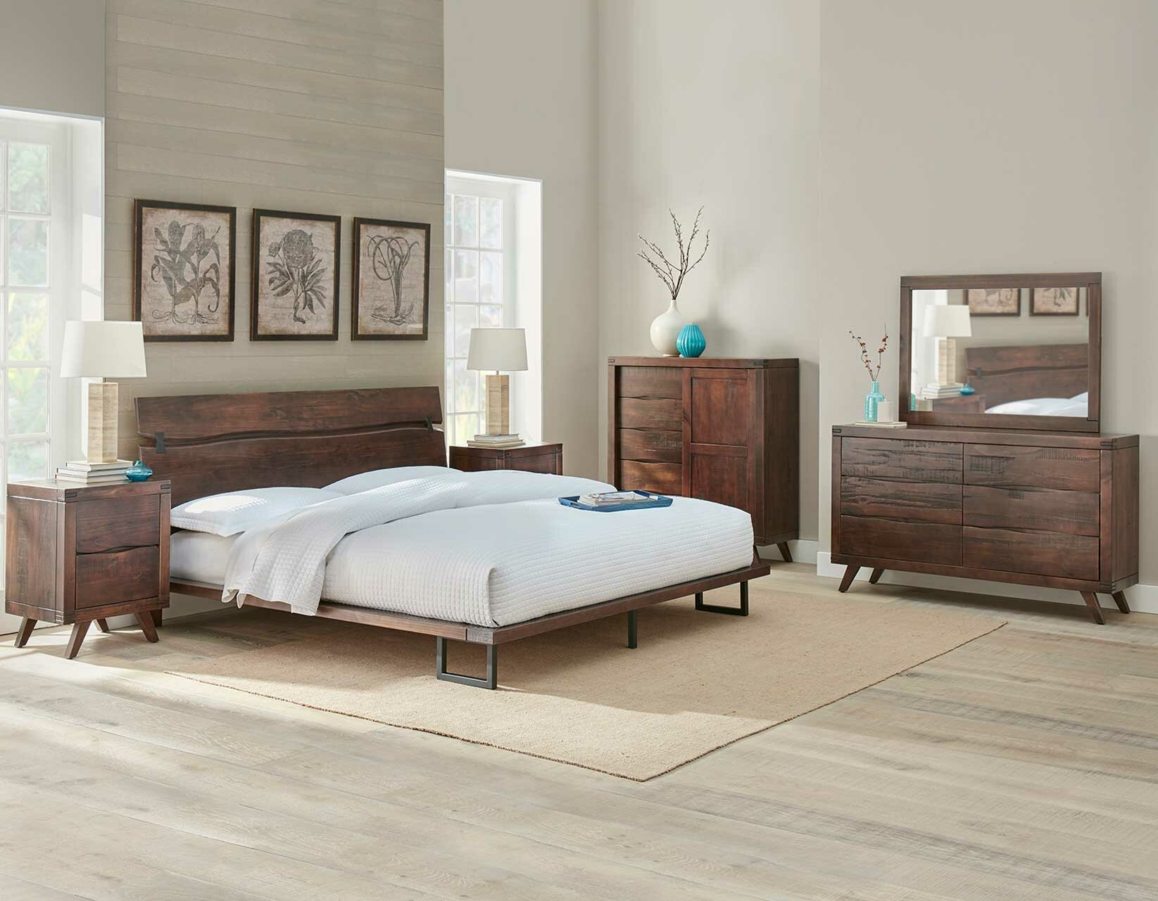 Widner Platform Configurable Bedroom Set