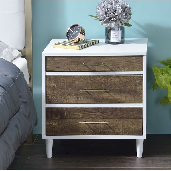 Colby 3 Drawer Nightstand by Langley Street