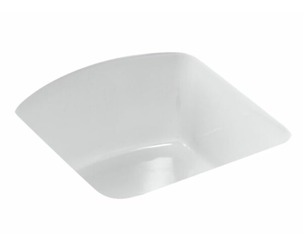 Napa 18.7 L x 18.7 W Under Mount Bar Sink by Kohler