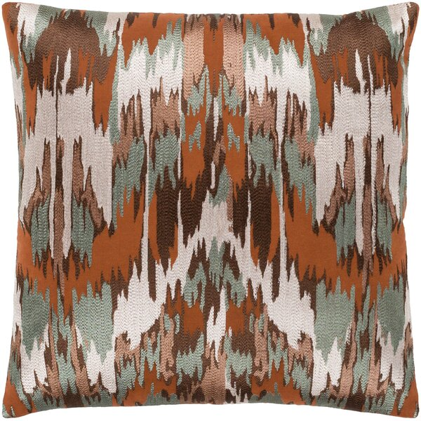 Claysburg Cotton Throw Pillow by World Menagerie