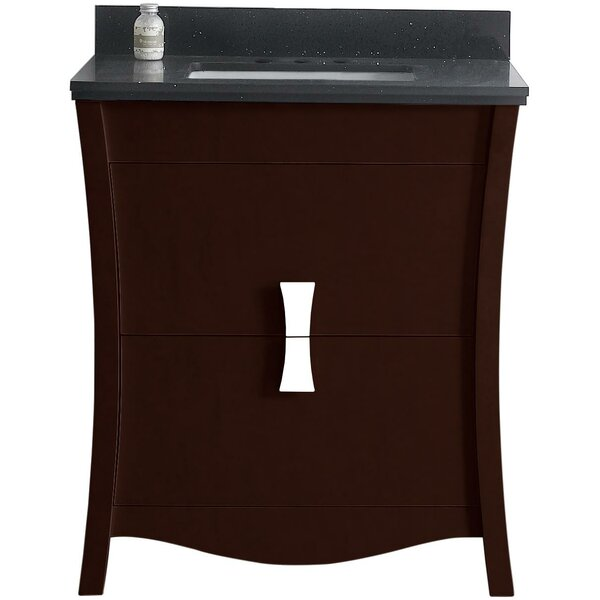 Bow 29.45 Single Bathroom Vanity Set by American Imaginations
