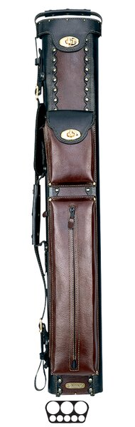 3 Butt and 5 Shaft Cowboy Pool Cue Cases by Instroke