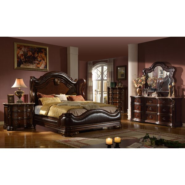 Erwan Queen Panel Bedroom Set by Astoria Grand