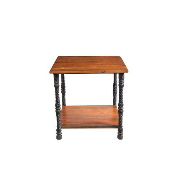 Auvillar End Table by Gracie Oaks