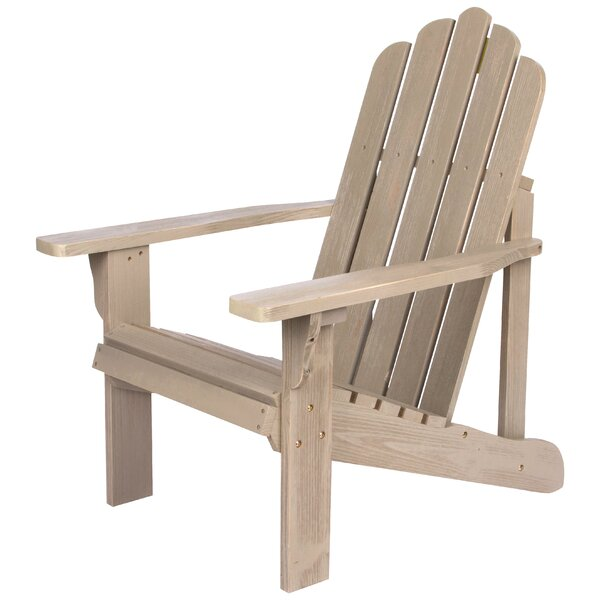 Janes Wood Adirondack Chair by Breakwater Bay Breakwater Bay