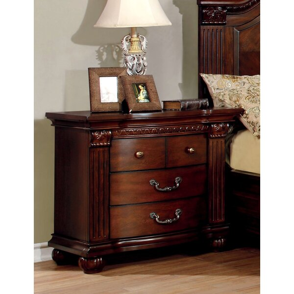 Crispin 3 Drawer Nightstand by Hokku Designs
