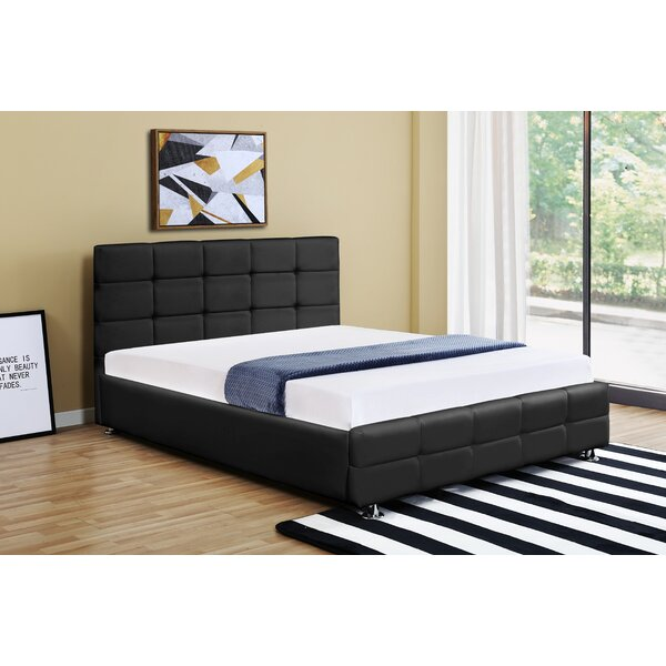 Naples Upholstered Platform Bed by Ebern Designs