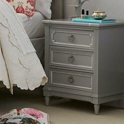 Clementine Court 3 Drawer Nightstand by Stone & Leigh™ Furniture