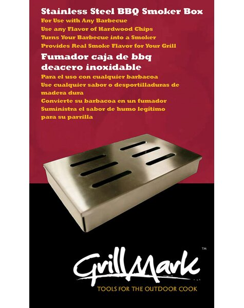 BBQ Smoker Box by Grill Mark