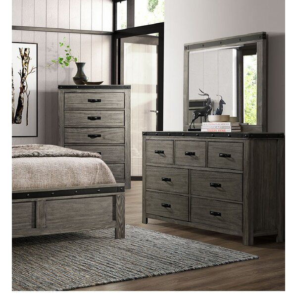 Olvera 7 Drawer Dresser with Mirror by Williston Forge Williston Forge