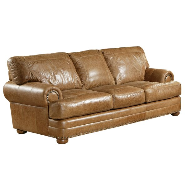 Houston Leather Sofa Bed by Omnia Leather Omnia Leather