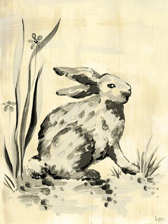 Toile Bunny Canvas Art by Oopsy Daisy
