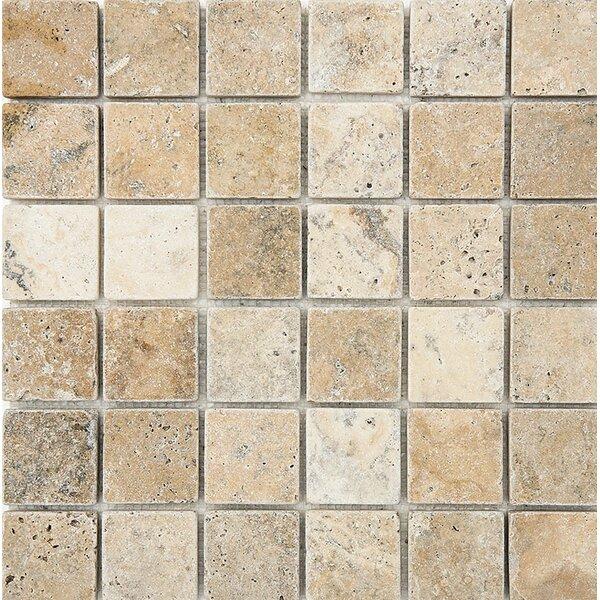 Philadelphia Mosaic 2 x 2 Stone Mosaic Tile Tumbled by Parvatile